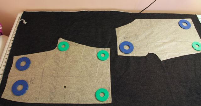 Then Flip the Pattern and Lay Out the Other Side