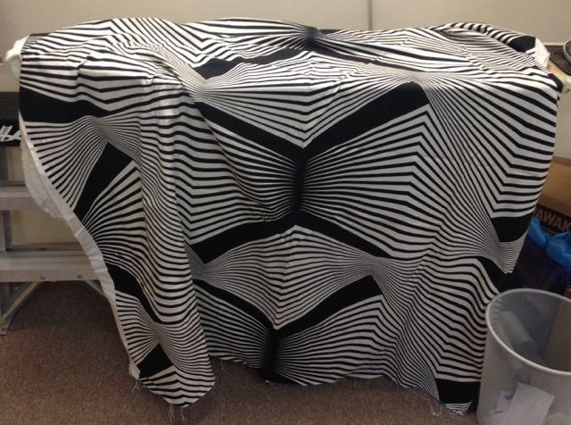 Scary Armani Fabric