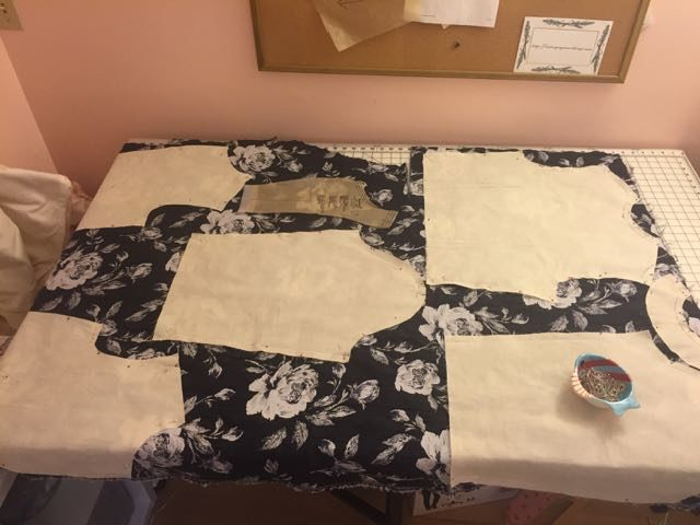 Using the muslin as my pattern